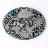 Horse Men's Western Belt Buckles for women Rodeo Vintage Cowboy Belt Buckles