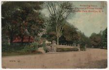 New ListingProspect Park Brooklyn New York City Pc Postcard Reviewing Stand Flower Garden