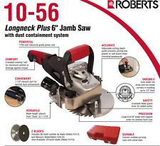 "1100 WATTS Q.E.P. ROBERTS 10-56 ELECTRIC 6"" Longneck Plus JAMB SAW KIT SALE NEW"
