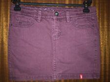 edc by Esprit Damen Rock, violett LIGHT AUBERGINE), Größe 32 XXS, 083CC1D016