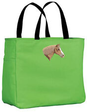 Draft Horse horse embroidered essential tote Any Color
