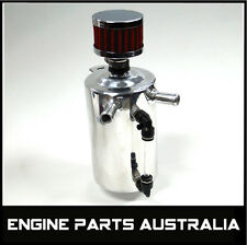 UNIVERSAL .5L OIL CATCH CAN SUIT CARS FORD XY HOLDEN COMMODORE V8 DRAG SHOW CAR