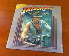 Story of Indiana Jones & the Temple of Doom LP (1984) #62107 Record & Book ~ New