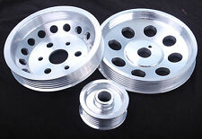 Toyota GT86 Lightweight Crank Engine Under Drive Pulley Set Aluminium Alloy