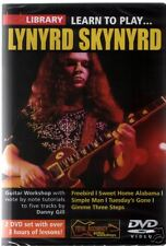 IMPARA a suonare Lynyrd Skynyrd Guitar DVD jamtrax CD SWEET Home Alabama Freebird