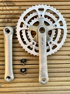 Shimano DEORE LX FC-M550 Crankset - 170mm - Square Taper - Retro Mountain Bike