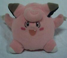 "Hasbro 1998 Nintendo Pokemon CLEFAIRY 3"" Plush Stuffed Animal Toy"