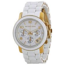Michael Kors  MK5145 Catwalk Chronograph White/Gold Women's  Watch