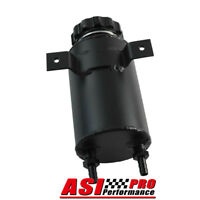 Universal Aluminum Radiator Overflow Coolant Expansion Tank Black AUS SHIP PRO