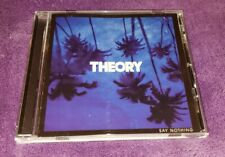 THEORY of a deadman cd SAY NOTHING