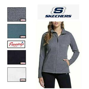 SALE! Skechers Women's Go Walk Full Zip Fleece Jacket  VARIETY Size/Color H53