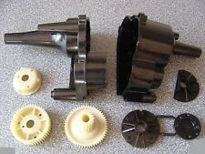Tamiya Mad Bull/Rising Fighter Gearbox Case +Gear & Bearing Holder Parts Madbull