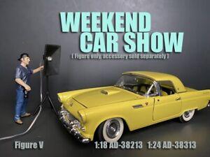 American Diorama 1:18 Scale Figure 10cm * Weekend Car Show Figure V * AD-38213