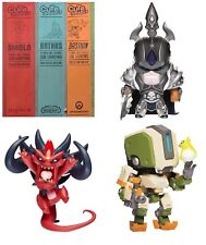 CUTE BUT DEADLY Colossal Bastion + Arthas + Diablo Statue Set-personnage figurines
