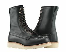Red Wing Heritage 3424 8-Inch Moc Black Boundary Women's Boots 03424 Size 7B
