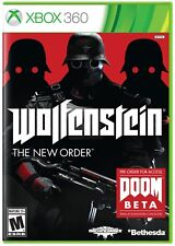 Wolfenstein: The New Order (Microsoft Xbox 360, 2014) mint condition - 4 discs