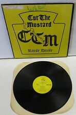 Cut The Mustard Razzle Dazzle LP Vinyl Record private indie classic rock