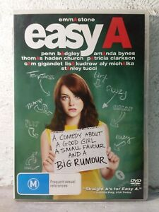 EASY A  (DVD)  COMEDY MOVE - REGION 4 AUST
