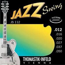 Thomastik JS112 Jazz Swing Flatwound Med Lt Electric Guitar Strings