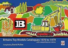 Britains Farm Toy Models Catalogues 1970-1979 Book ( Brand New )