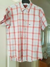 Boys Kickers Pale Blue Multi Checked Casual Shirt, Small Size L/XL, Chest 36/38