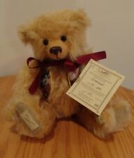 Limited Edition Dean's Rag Book Co Ltd Mohair Bear Chandler #13/25 With Tags