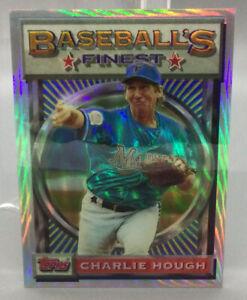 1993 Topps Refractor - Charlie Hough - Baseball Card