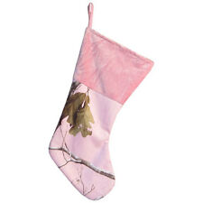 Realtree AP Pink Camo Christmas Stocking