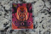 1994 Marvel Masterpieces Gold Signature #70 Magneto