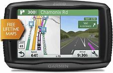 "Navigatore GARMIN ZUMO 595 LM TRAVEL EDITION gps mappe Europa a vita schermo 5 """