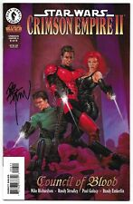 Star Wars Crimson Empire II Council of Blood 6 Signed Dave Dorman Autographed
