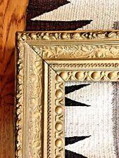 """Large Antique 1800s Victorian Ornate Gold Picture Frame Leaf & Vine, 33"""" x 26"""""""