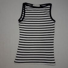 Juicy Couture Womens S Blue Stripe Tank Top Made in USA EUC