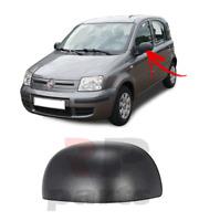 FOR FIAT PANDA 2009 - 2012 NEW WING MIRROR COVER CAP BLACK LEFT N/S