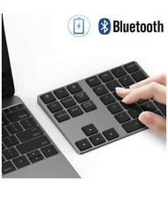 Bluetooth Number Pad, Lekvey Aluminum Rechargeable Wireless Numeric