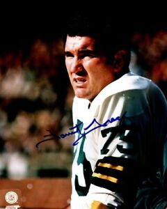 Packers FORREST GREGG (d) Signed 8x10 Photo #8 AUTO - HOF '77 - SB III Champ