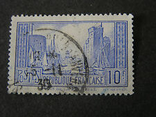 *FRANCE, SCOTT # 251, 10fr. VALUE ITALIAN BLUE 1929-33 ISSUE USED