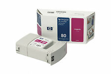 ORIGINAL 2014 DATE HP 80 C4847A MAGENTA 1050C 1050 P1055CM 1055 PLUS FASTPOSTAGE