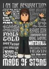 Inspired by Stone Roses Ian Brown Greeting Birthday Card