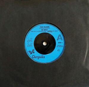 """Go West-True Colours/XL5  7"""" Single.1986 Chrysalis GOW 4."""
