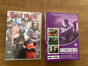 Horse Racing DVDs - Best Mate, Greatest Ever Races, Seabiscuit Film