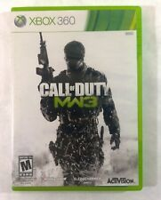 CALL OF DUTY MW3 (Microsoft Xbox 360, 2011) Game with Case