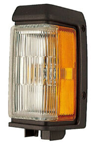 Front Side Marker Light for 88-95 Nissan Pathfinder/88-89 Pickup (Black) Left