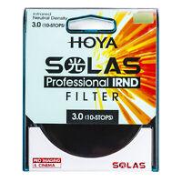 HOYA SOLAS ND-1000 (3.0) 10 Stop IRND Neutral Density Filter