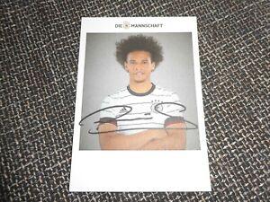 original Leroy Sane - Autogrammkarte,Fussball,Sport