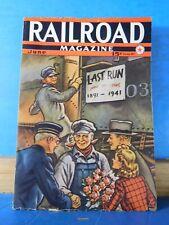 Railroad Magazine 1941 June Props RR movies Alpine Tunn
