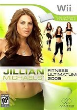 Jillian Michaels Fitness Ultimatum 2009 - Nintendo  Wii Game