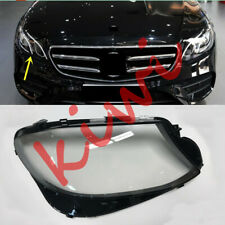 1*Right Headlight Cover transparent pc+Glue  For Mercedes-Benz W213 E 2017-2019