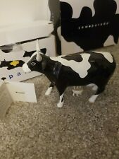 Cow Parade #9179 Moozart Piano Ceramic Westland Cow's on Parade (Retired)