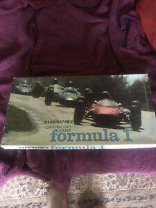 Waddingtons Formula 1 Motor Car Racing Board Game - Original Collectible.